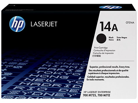 Toner HP 14A Preto