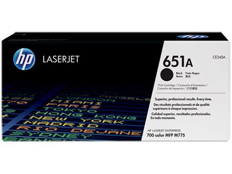 Toner HP 651A Preto