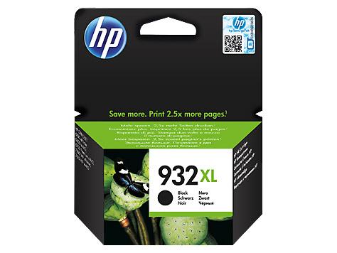 Tinteiro HP 932XL Preto