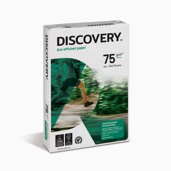 Papel de cópia Discovery 75 grs - A4