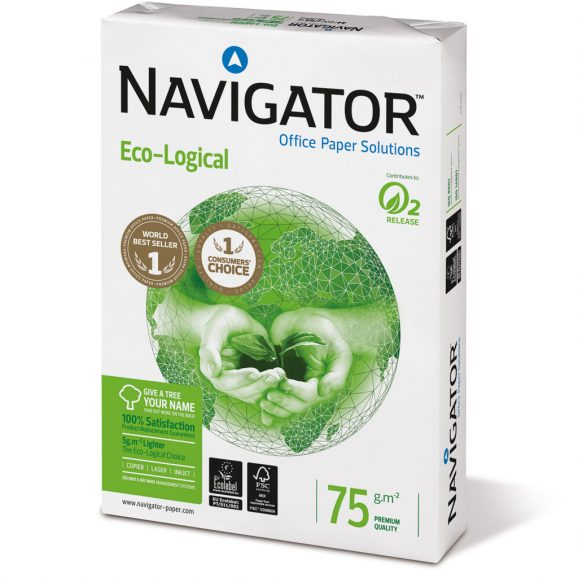 Resma papel Navigator Eco-Logical